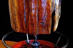 Automotive Grade Cedar Barstool