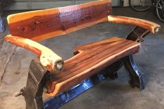 Jeep Frame Bench