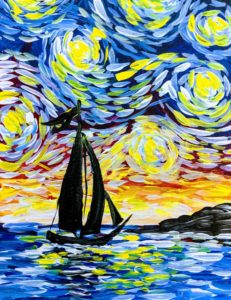 Starry Sailboat