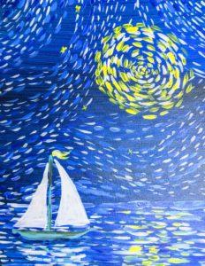 Boat Van Gogh