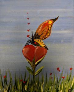 Butterfly & Heart