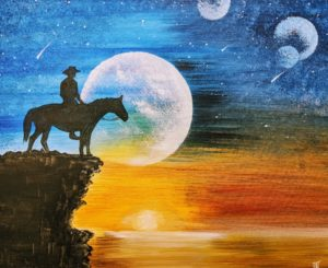 Cowboy and Planets