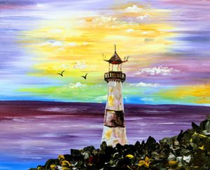 Lilac Lighthouse