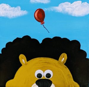 Lion & Balloon