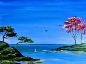 Spring in the Ocean