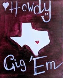 Texas Gig 'Em