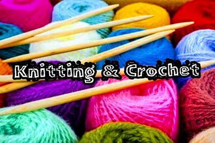knitting & crochet class